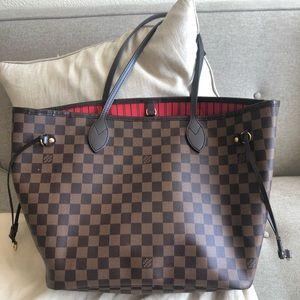 Louis Vuitton Bags - ‼️SOLD‼️ Auth Louis Vuitton Neverfull mm